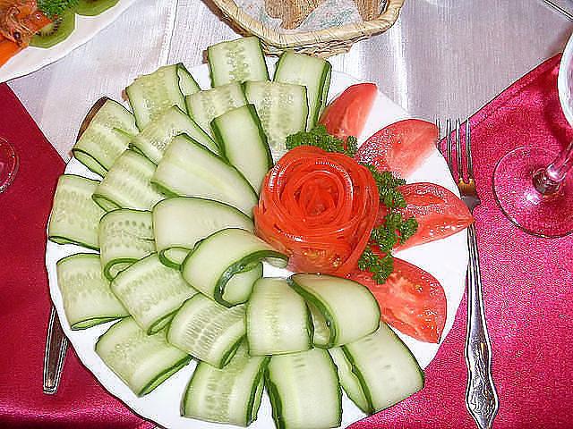 Рецепт овощной нарезки 169